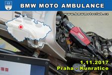 BMW MOTO AMBULANCE - 1.11.2017 - kliknutím na fotku zobrazíte článek