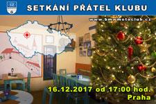 SETKÁNÍ ČLENŮ A PŘÁTEL KLUBU - 16.12.2017 - kliknutím na fotku zobrazíte článek
