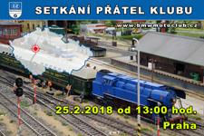 SETKÁNÍ ČLENŮ A PŘÁTEL KLUBU - 25.2.2018 - kliknutím na fotku zobrazíte článek