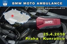 BMW MOTO AMBULANCE - 25.4.2018 - kliknutím na fotku zobrazíte článek