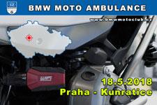 BMW MOTO AMBULANCE - 18.5.2018 - kliknutím na fotku zobrazíte článek