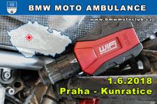 BMW MOTO AMBULANCE - 1.6.2018 - kliknutím na fotku zobrazíte článek