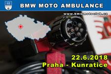 BMW MOTO AMBULANCE - 22.6.2018 - kliknutím na fotku zobrazíte článek
