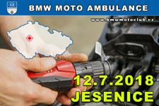 BMW MOTO AMBULANCE - 12.7.2018 - kliknutím na fotku zobrazíte článek