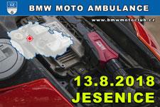 BMW MOTO AMBULANCE - 13.8.2018 - kliknutím na fotku zobrazíte článek