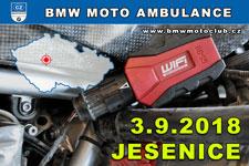 BMW MOTO AMBULANCE - 3.9.2018 - kliknutím na fotku zobrazíte článek