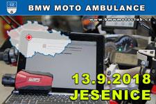 BMW MOTO AMBULANCE - 13.9.2018 - kliknutím na fotku zobrazíte článek