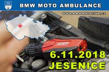 BMW MOTO AMBULANCE - 6.11.2018 - kliknutím na fotku zobrazíte článek
