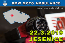 BMW MOTO AMBULANCE - 22.3.2019 - kliknutím na fotku zobrazíte článek