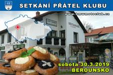 SETKÁNÍ ČLENŮ A PŘÁTEL KLUBU - 30.3.2019 - kliknutím na fotku zobrazíte článek