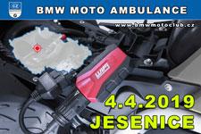 BMW MOTO AMBULANCE - 4.4.2019 - kliknutím na fotku zobrazíte článek