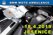 BMW MOTO AMBULANCE - 18.4.2019 - kliknutím na fotku zobrazíte článek