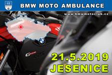 BMW MOTO AMBULANCE - 21.5.2019 - kliknutím na fotku zobrazíte článek