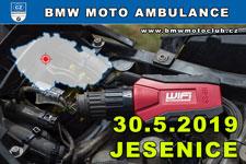 BMW MOTO AMBULANCE - 30.5.2019 - kliknutím na fotku zobrazíte článek