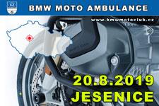 BMW MOTO AMBULANCE - 20.8.2019 - kliknutím na fotku zobrazíte článek