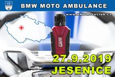 BMW MOTO AMBULANCE - 27.9.2019 - kliknutím na fotku zobrazíte článek