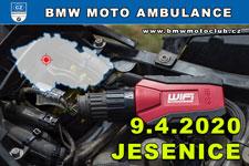 BMW MOTO AMBULANCE - 9.4.2020 - kliknutím na fotku zobrazíte článek