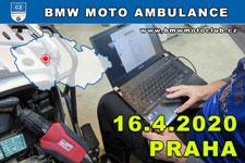 BMW MOTO AMBULANCE - 16.4.2020 - kliknutím na fotku zobrazíte článek