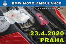 BMW MOTO AMBULANCE - 23.4.2020 - kliknutím na fotku zobrazíte článek
