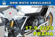 BMW MOTO AMBULANCE - 17.9.2020 - kliknutím na fotku zobrazíte článek