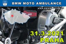 BMW MOTO AMBULANCE - 31.3.2021 - kliknutím na fotku zobrazíte článek