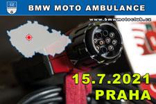 BMW MOTO AMBULANCE - 15.7.2021 - kliknutím na fotku zobrazíte článek