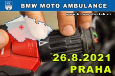BMW MOTO AMBULANCE - 26.8.2021 - kliknutím na fotku zobrazíte článek